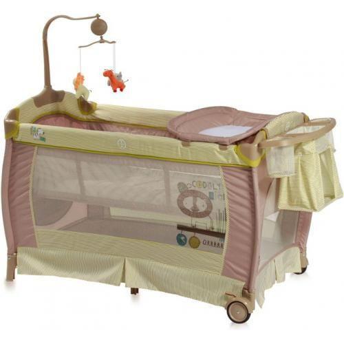 Манеж - кровать Lorelli SLEEP 'N' DREAM 2 Layers Plus