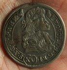 Австрия !! 15 крейцеров 1681 г !!! Старое серебро !!
