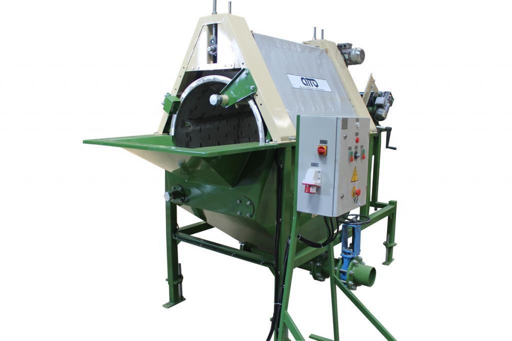 оборудование машина для мойки овощей, картофеля, моркови, свеклы, корнеплодов УМ-10