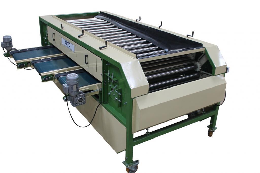 оборудование машина для калибровки картофеля, овощей, моркови, лука по размеру УК-10-01