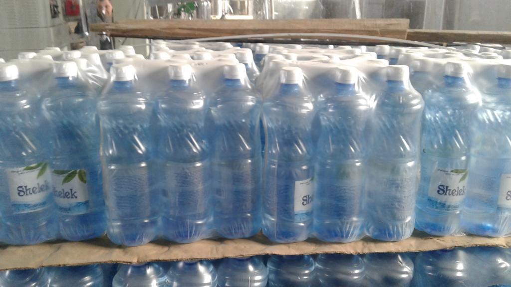 Артезианская питьевая вода Shelek