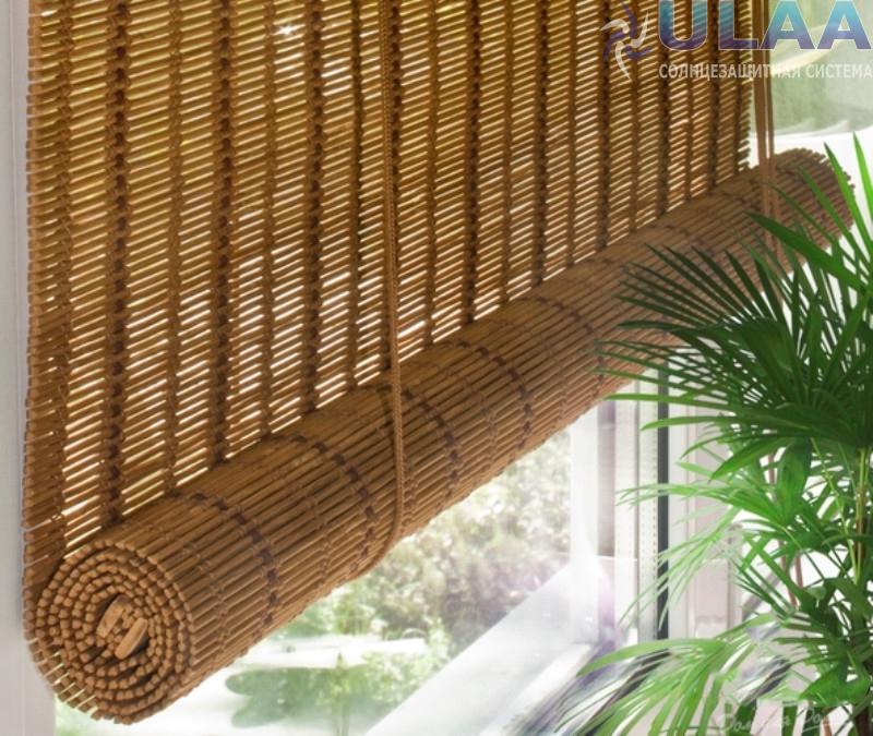 Римские шторы, жалюзи, ролл-шторы, бамбуковые полотна