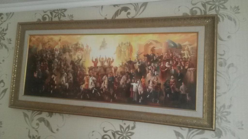 """Картина """"Опора народа"""" копия на холсте."""