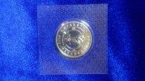 памятная монета Астана 2015 года в запайке