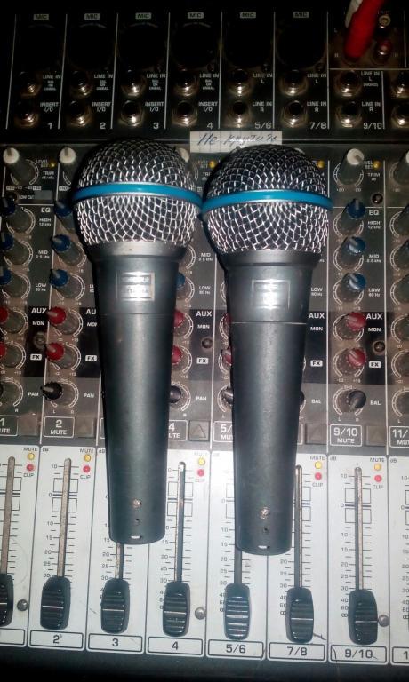 2 микрофона SURE BETA A58