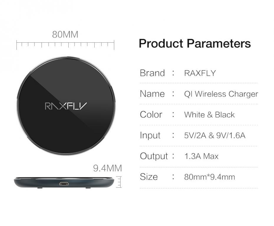 Беспроводная зарядка QI для смартфотнов Apple и Samsung