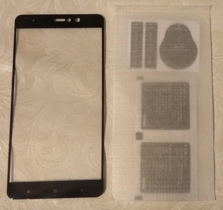 3D-cтекло с чёрной рамкой для Xiaomi Mi A1