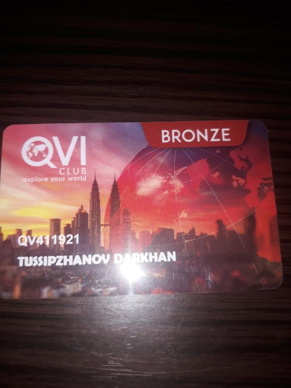 Продам карту QVI club Членство Bronze Vacation Club