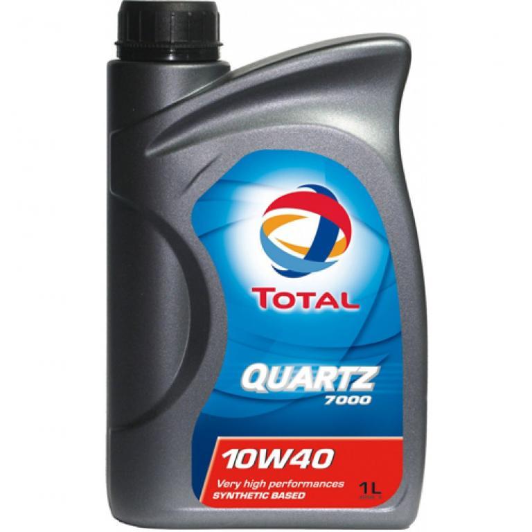 Моторное масло Total QUARTZ 7000 10w40 1l