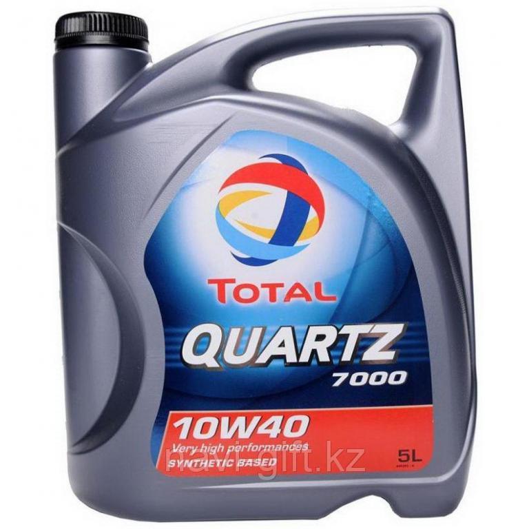 Моторное масло Total QUARTZ 7000 10w40 5l