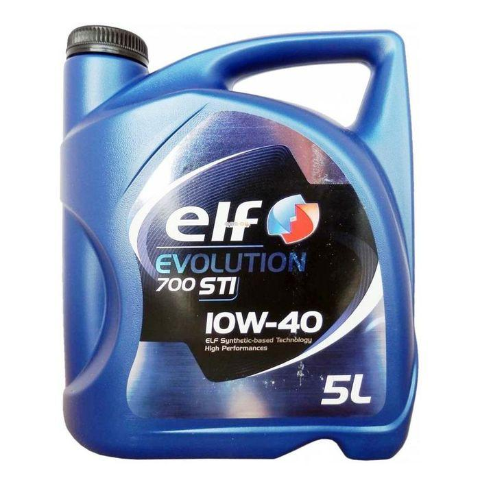 Моторное масло Elf Evolution 700 STI 10w40 5l