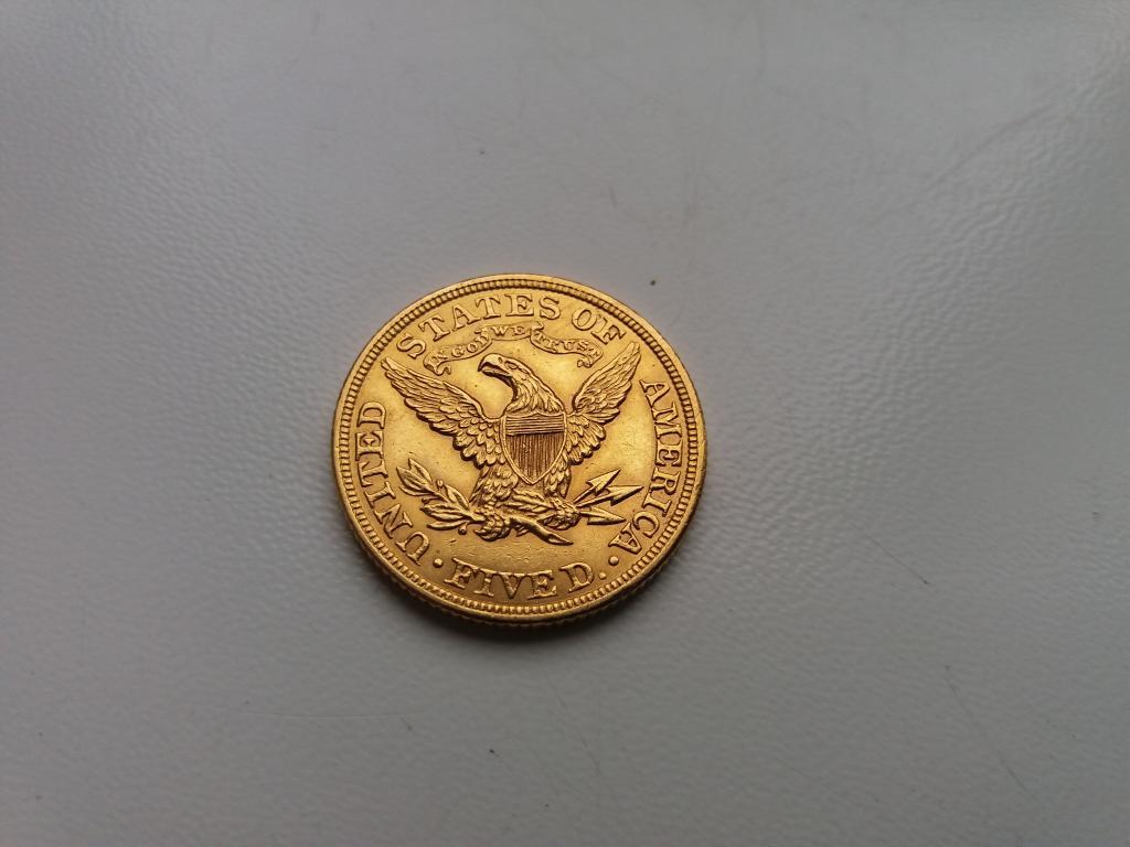 5 доллара 1900 года