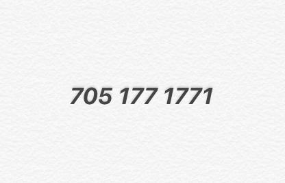 Элитный номер Билайн