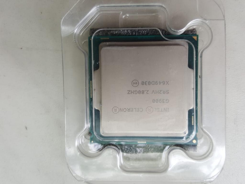 Новая, на  гарантии в Алматы процессор Intel Celeron G3900, LGA1151, Тактовая частота 2.8 ГГц