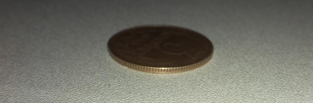 Монета 3 копейки 1986 г. Частый Грунт