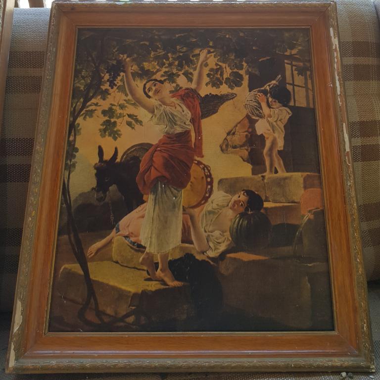 """Картина """"Девушка, собирающая виноград"""" К. Брюллов"""