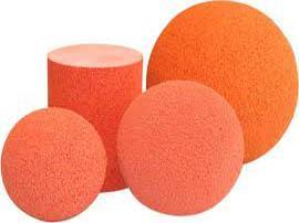 Мячи промывочные для бетононасосов 125 150 175. Шары для бетононасоса