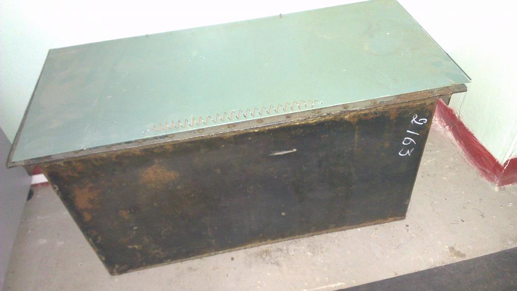 Ларь для обтирочных материалов 1000х500х572мм