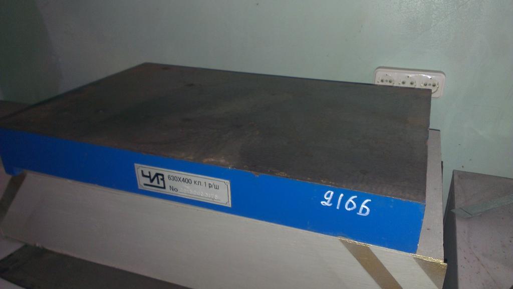ПОДСТАВКА ПОД ПЛИТУ ПОВЕРОЧНУЮ, 1500х1000х600 мм, в количестве 2 шт.