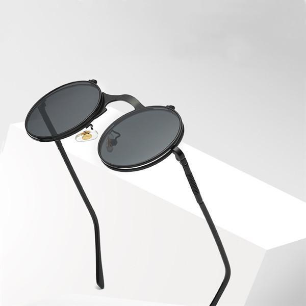 Ретро флип солнцезащитные очки