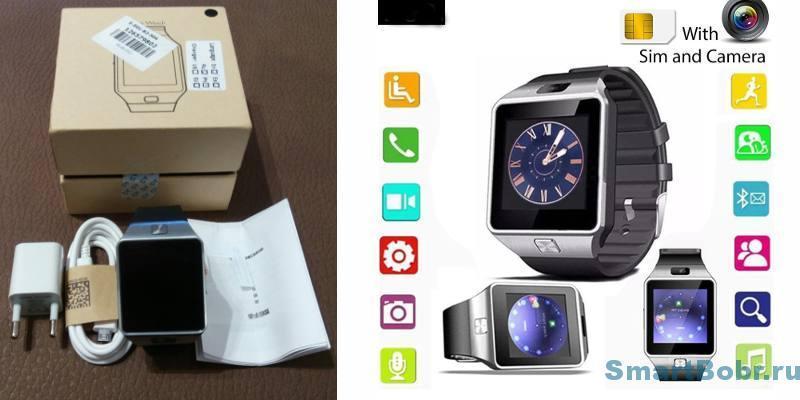 Smart watch DZ09 Часы-телефон