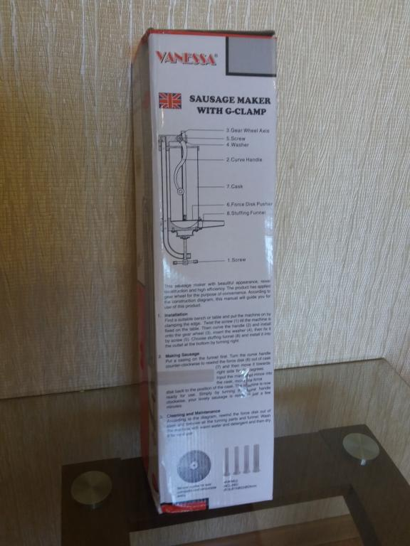 Шприц колбасный вертикальный 2,5 кг