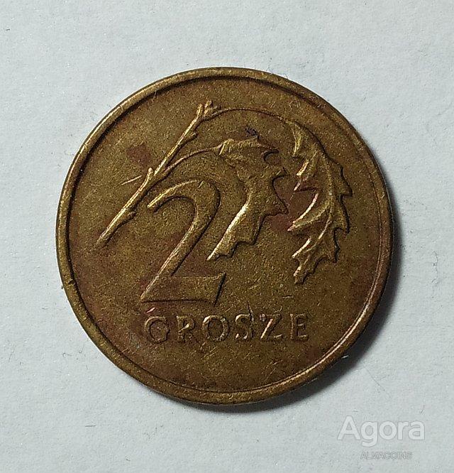 Польша 2 гроша, 2000