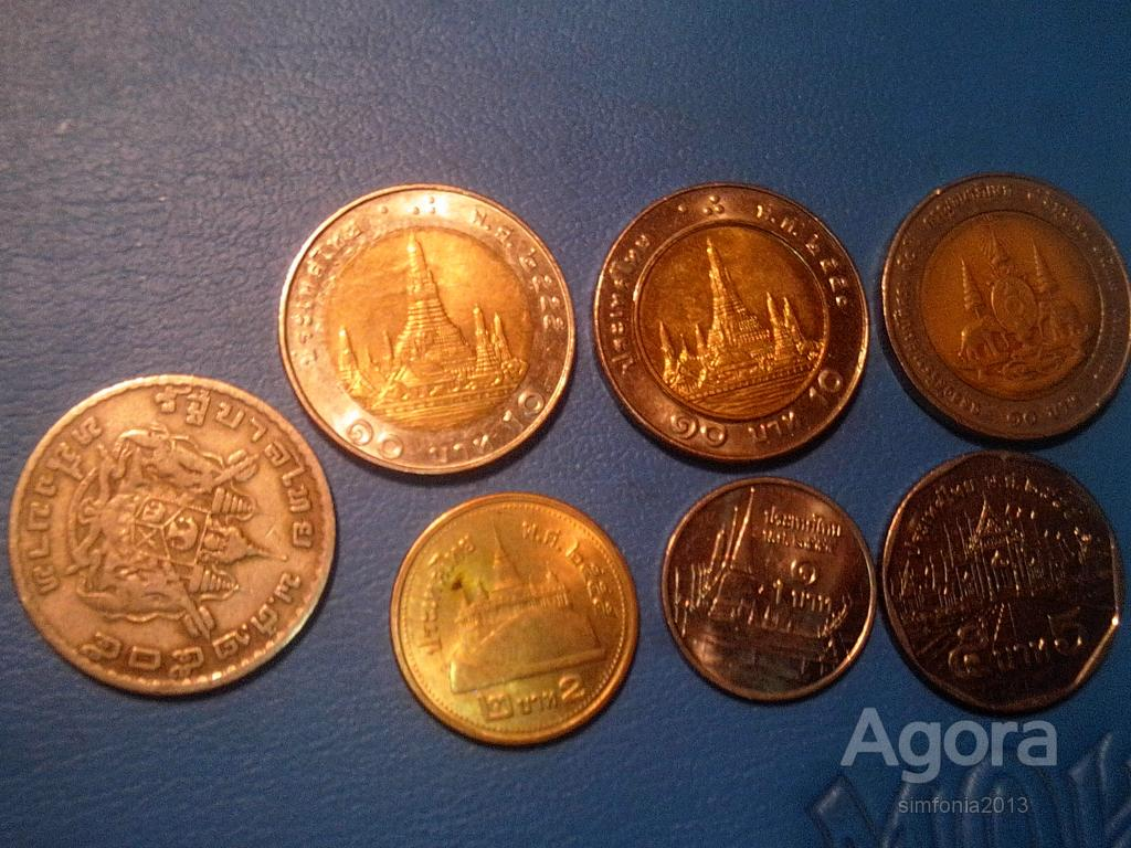Тайланд Баты Лот 7 монет
