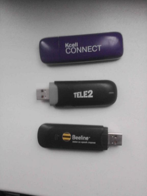 Kcell, Beeline, Tele2 USB модемы