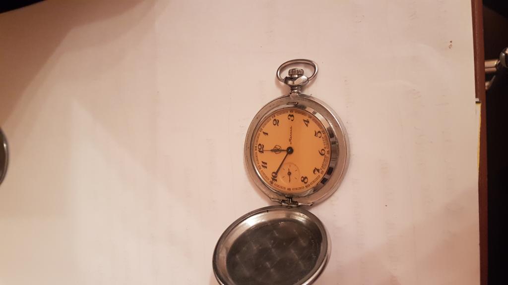 Антикварные часы молния 1951 года