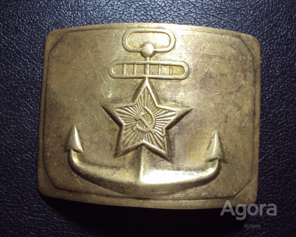 Пряжка морская ВМФ СССР ДМБ 1.