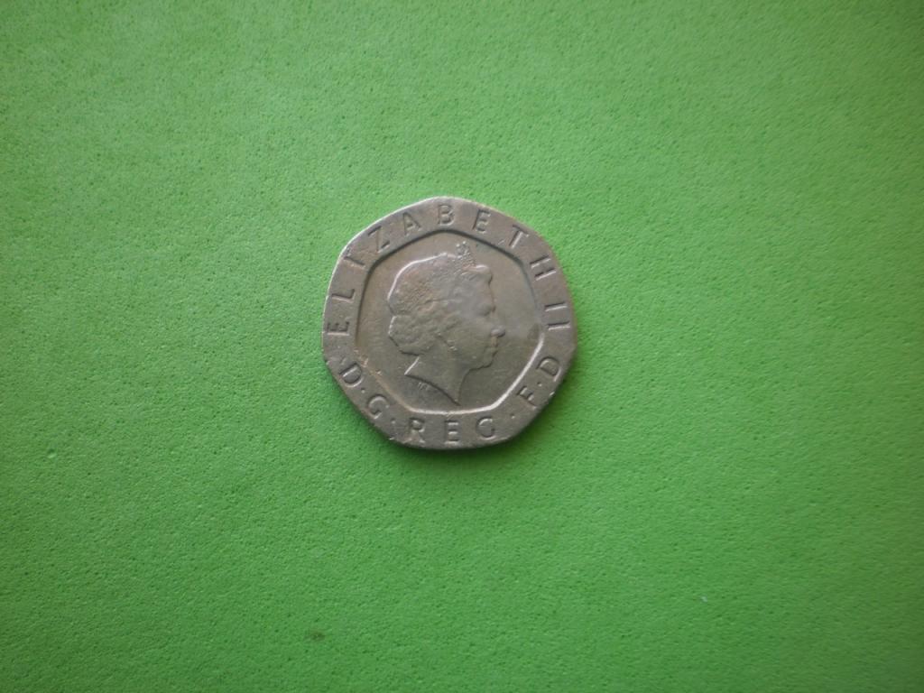Великобритания, 20 пенсов 2000г.