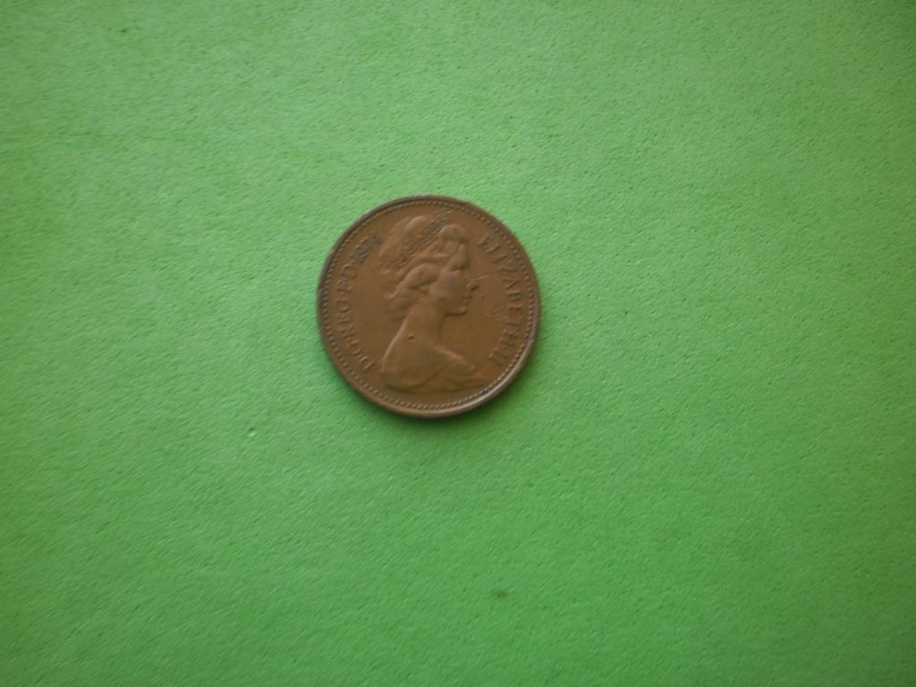 Великобритания, 1 пенни 1974г.