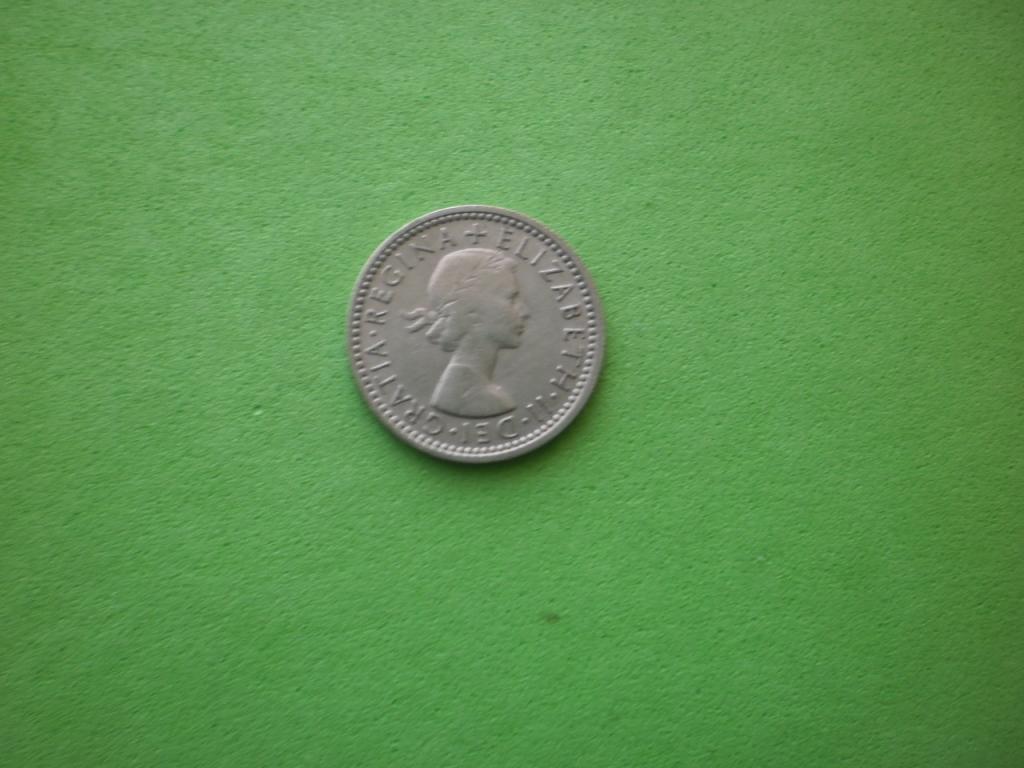 Великобритания, 6 пенсов 1962г. (2)