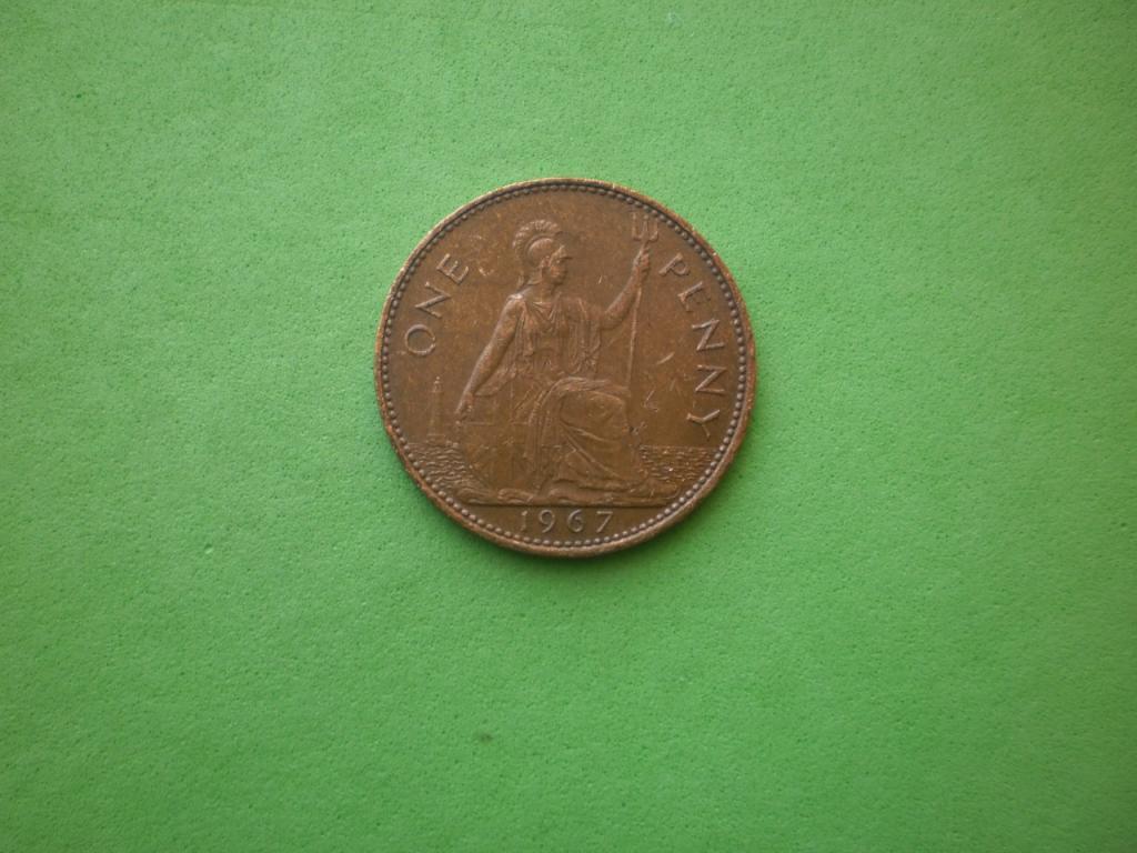 Великобритания, 1 пенни 1967г.