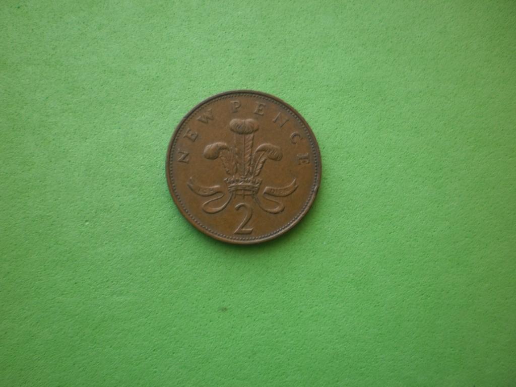 Великобритания, 2 пенса 1971г. (2)