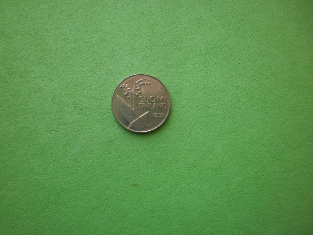 Финляндия, 10 пенни 1991г.