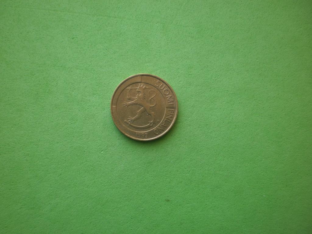 Финляндия, 1 марка 1993г.