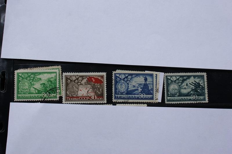 СССР , 1944 серия 4 марки