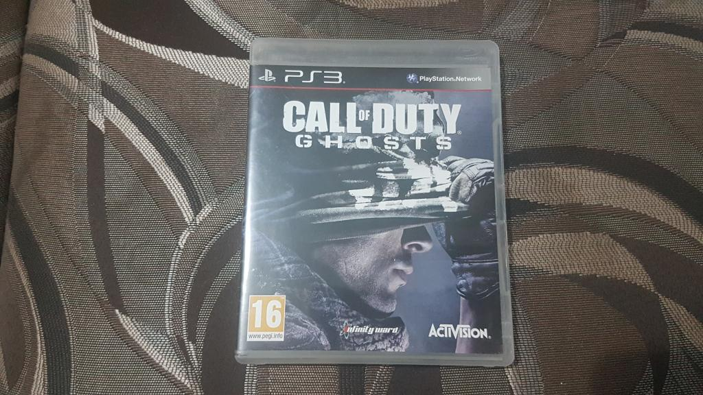 ДИСК НА ПС 3 PS 3 CALL OF DUTY GHOSTS