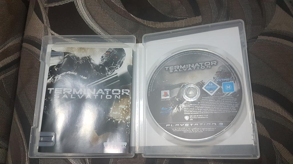 ДИСК НА ПС 3 PS 3 TERMINATOR SALVATION
