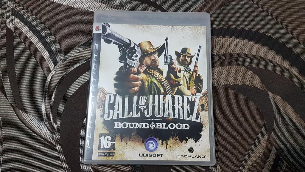 ДИСК НА ПС 3 PS 3 CALL OF JUAREZ BOUND IN BLOOD