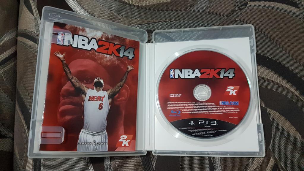 ДИСК НА ПС 3 PS 3 NBA 2K14