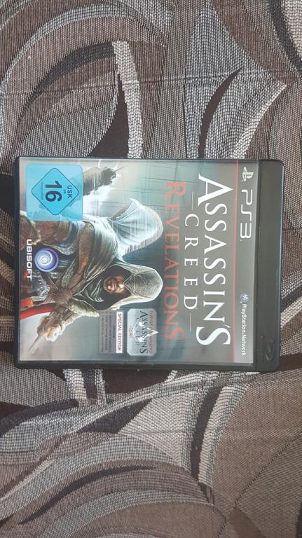 ДИСК НА ПС 3 PS 3 ASSASSINS CREED REVELATIONS