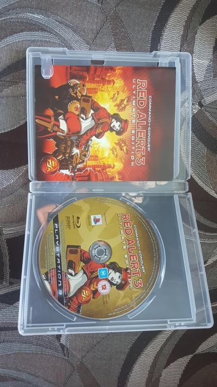ДИСК НА ПС 3 PS 3 RED ALERT 3
