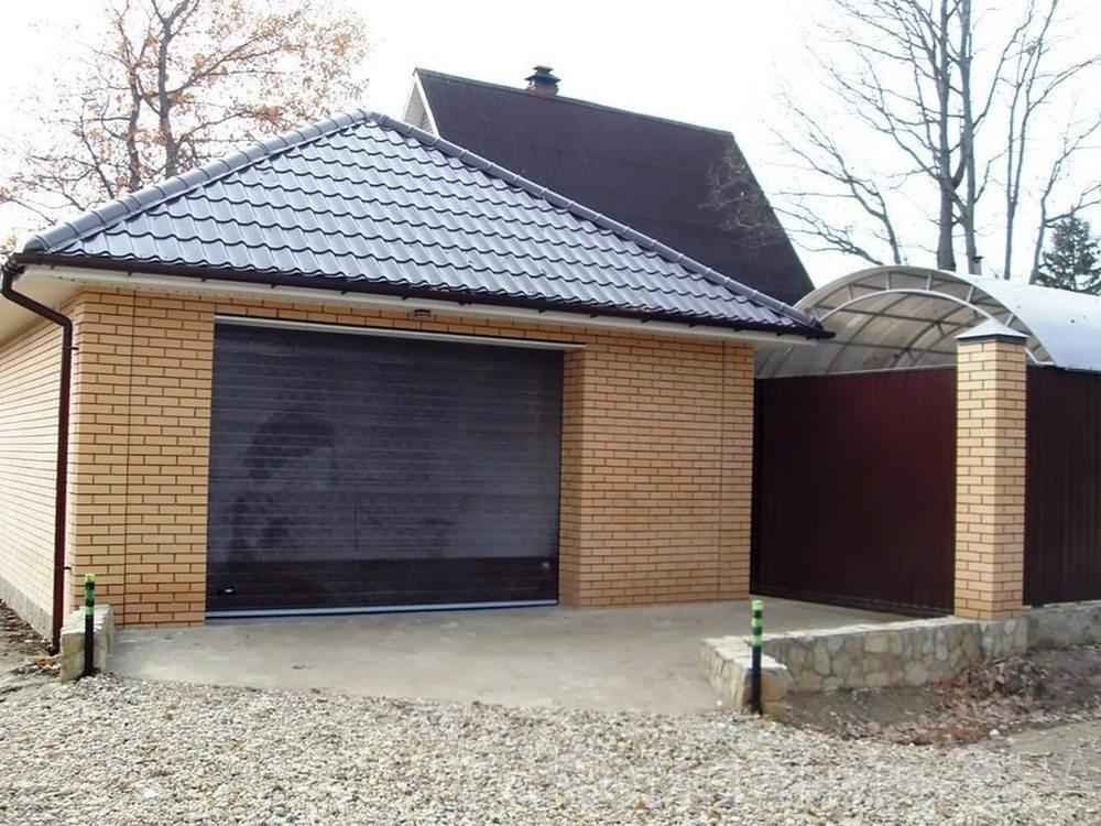построить кирпичный гараж цена