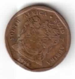 ЮАР 20 центов 1994 год