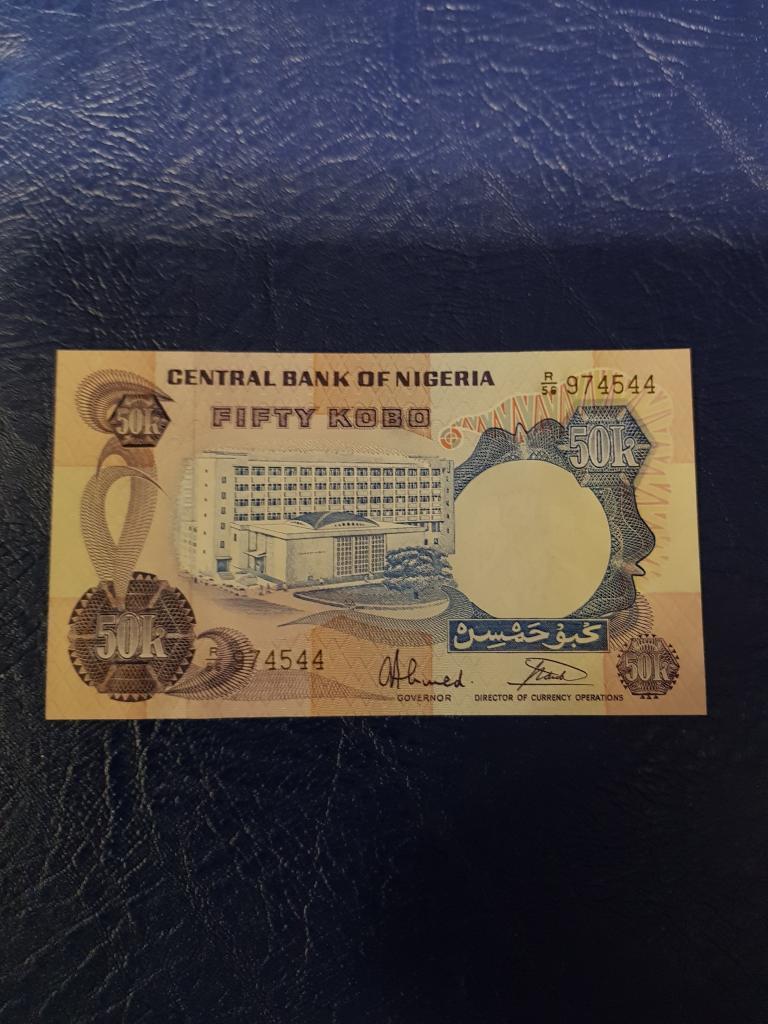 Нигерия 50 найра 1970-е года ПРЕСС/UNC