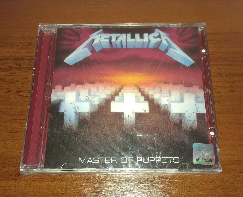 Metallica – Master Of Puppets, Лицензия Universal Music, CD, Запечатан