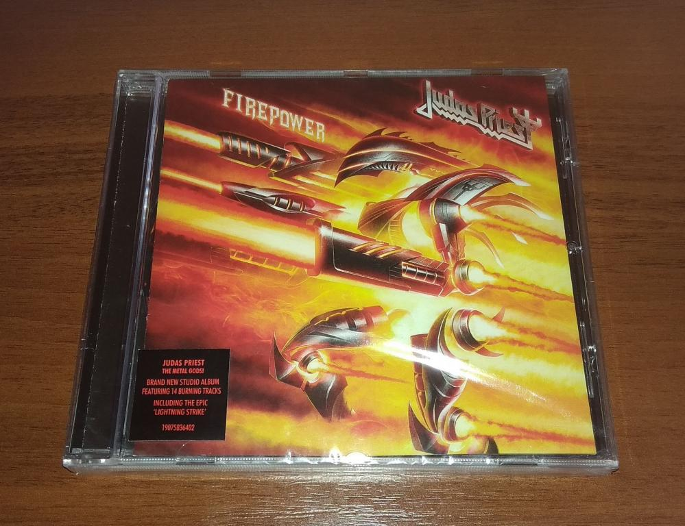 Judas Priest – Firepower (Лицензия Sony Music, CD, Буклет, Запечатан) Russia 2018